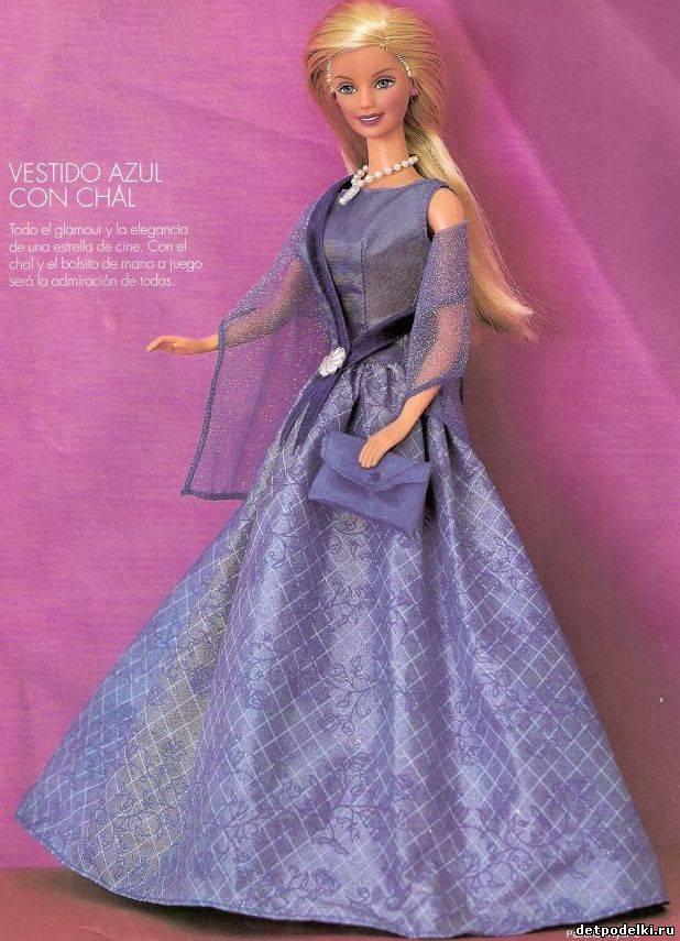 Барби своими руками с выкройками фото